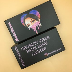 Black Custom Eyelash Packaging Boxes (27)