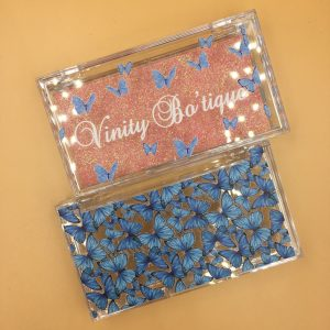 Blue Custom Eyelash Packaging Boxes (58)