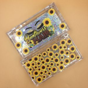 Sunflower Custom Eyelash Packaging Boxes (70)