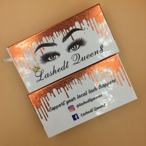 custom mink lash boxes