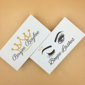 Customized Eyelash Boxes