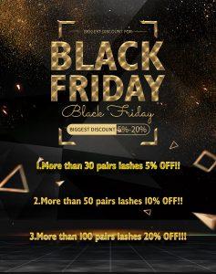 Black Friday Lashes Sales