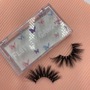 Customized eyelash box.