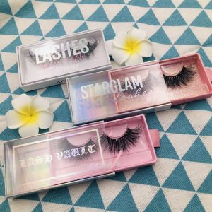 mink lashes custom packaging