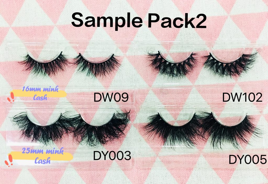Popular mink lashes
